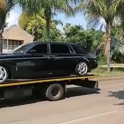 4 Rolls Royce Cars Repossessed From A Pastor In Pretoria-See Pictures