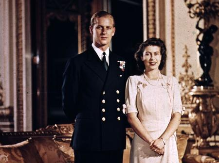 Beautiful throwback photos of Queen Elizabeth II and Late Prince Philip in 1947 after their Marriage