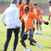 See More Photos Of Man Utd Manager, Players As They Prepare For Their EPL Clash Tonight