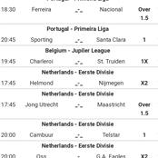 Bank on these Well Selected Football Tips and Win Today.