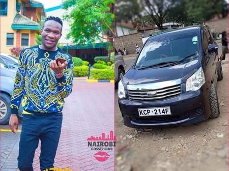 Famous Dj Vehicle Stolen By Thugs, Calls Kenyans To Help Him Trace It Down