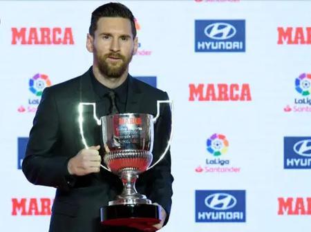 Messi set to win his 7th Pichichi award