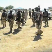 Soldiers in gun fight with unknown gunmen at Benue-Ebonyi boundary community