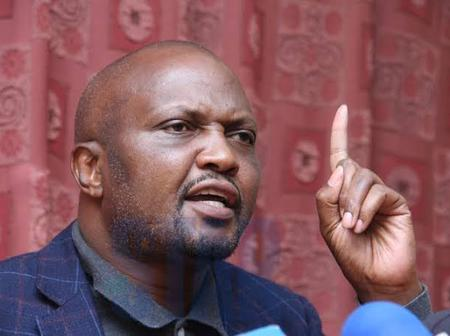 Moses Kuria Late Night Jab At President Kenyatta Backfires As Kenyans Ask DP Ruto Not To Trust Him