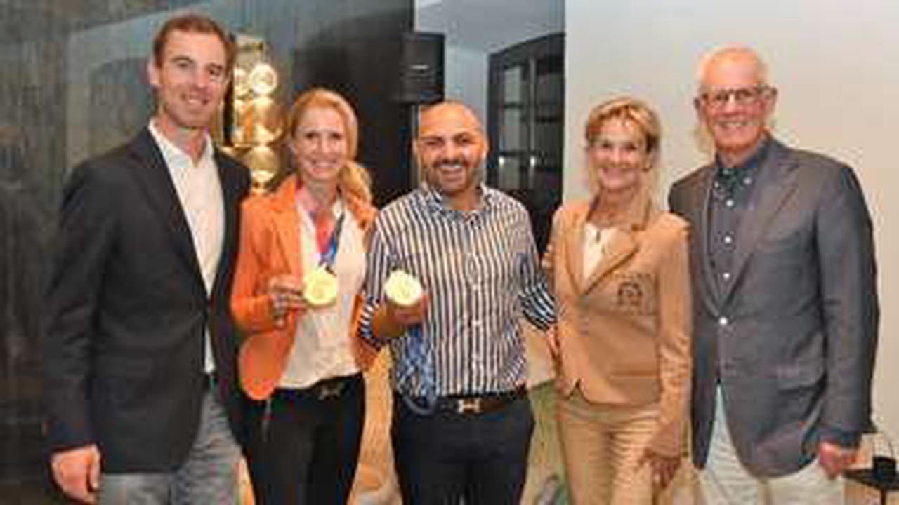 Das Ziel der Werndl-Geschwister: Bei den Olympischen Spielen gemeinsam um Gold reiten