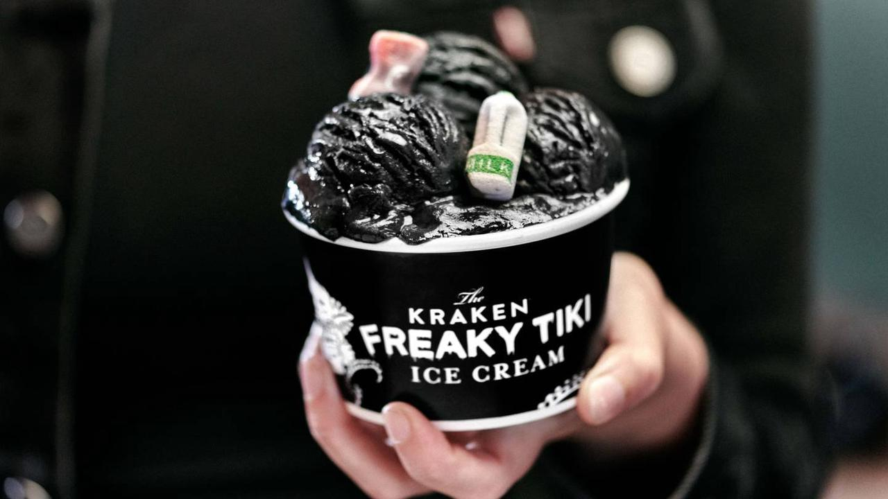 Alcoholic Ice Cream Topped With Edible Ocean Waste Highlights Marine Debris Problem