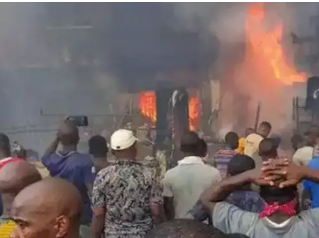 Today's Headlines: IPOB Operatives Strike Again, 70 Shops Burnt In Another Fire Outbreak And Others.