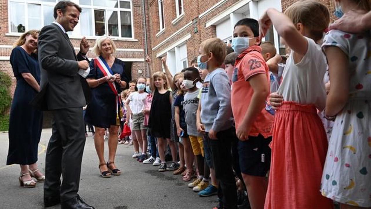 Gifle: cet enfant pose à Macron la question que tout le monde a en tête