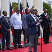 Details of President Uhuru's Meeting With Party Leaders at Statehouse today