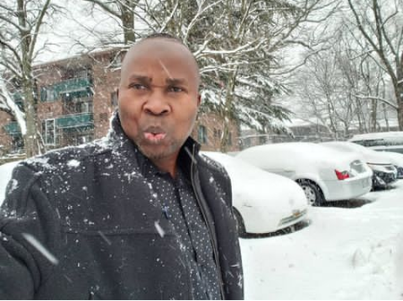 Comic Actor, Okunnu Shares Cute Photos Of His Canada-based Wife As He Celebrates Her Birthday Today