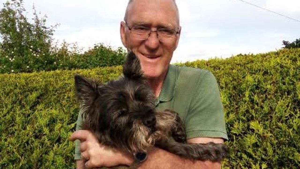 Lucky Corrie reunited with family in Uddingston