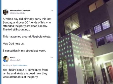 Over 20 people alleged dead after attending a birthday party in Ogun state