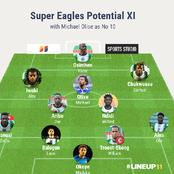 Super Eagles Likely Lineup With Michael Olise In No 10 Role