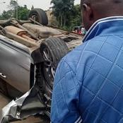 Nigerian Pastor Is Involved In A Car Accident