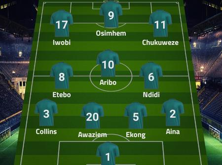 Opinion: Nigeria Would Qualify For AFCON 2021 If Genort Rohr Uses This Lineup Against Benin Republic