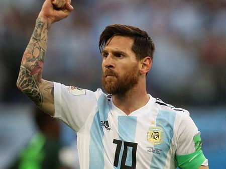 Messi Remains 8 goals Away From Becoming 5th Highest Goals Scorer in Football History