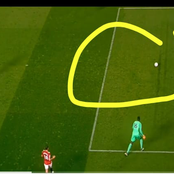 Why is Nobody Talking About it?, See The Big Mistake Eduoard Mendy Made Against Man United [VIDEO]