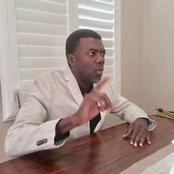 'Baptism is not a Prerequisite for Salvation' - Reno Omokri Clarifies