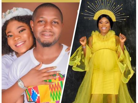 Popular Actress Jumoke Osundiya Welcomes New Baby With Her Husband.