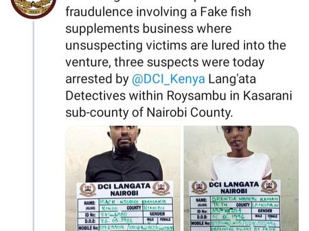 Police Nab Two Over Fake Fish Food