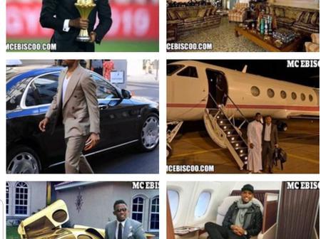 Samuel Eto, The Richest African Footballer Shows Off His Net Worth