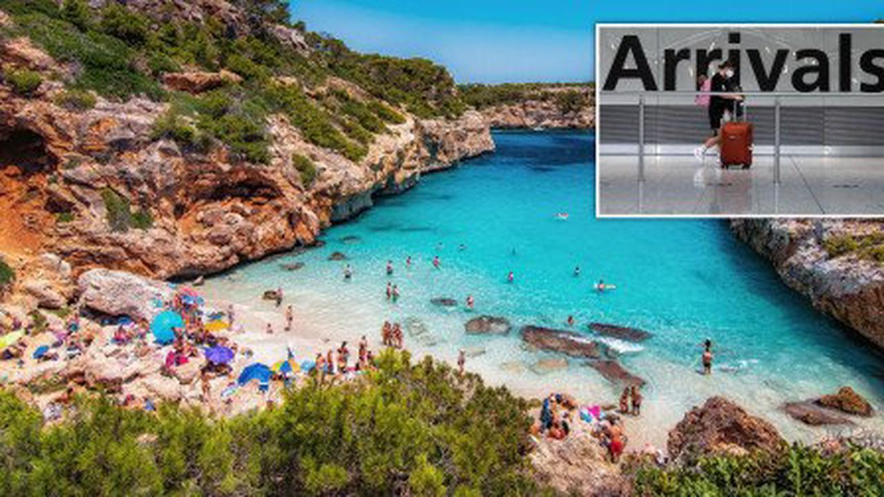 Spain and Greece 'to replace France on amber plus list within days'