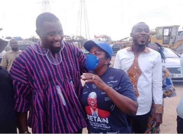 63ce6ede952944e785718378df35a191?quality=uhq&resize=720 - John Dumelo And Hon Lydia Alhassan Celebrities Campaign Team, Who Is More Influential? (Photos)