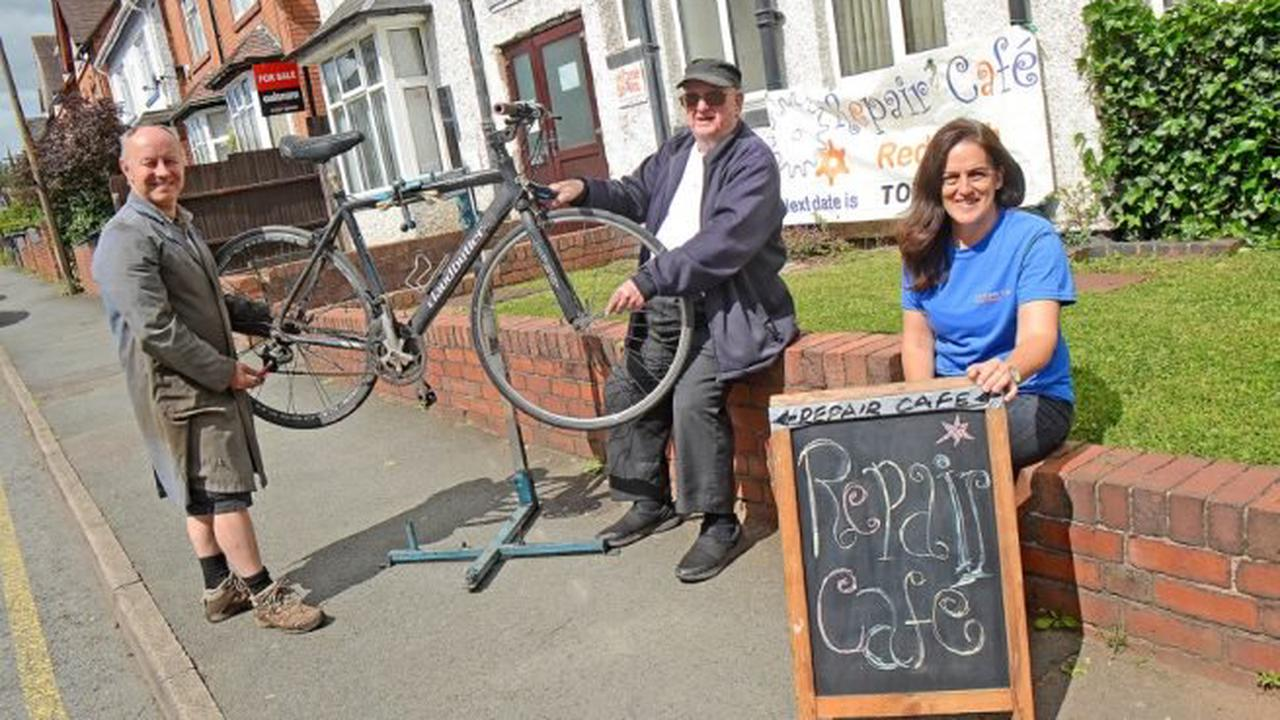 Let's fix it: Redditch Repair Cafe is back again this Saturday