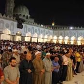 «آخر كلام».. الأوقاف تعلن تفاصيل إقامة صلاة التراويح خلال شهر رمضان.. وهذا حكم الصلاة في المنزل