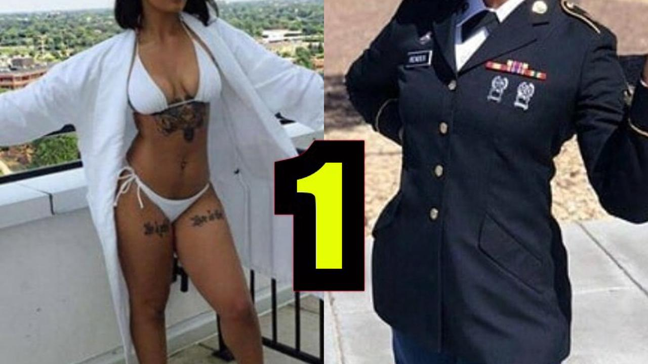 These Are Female Soldiers But They Look Prettier And Different Outside Their Uniforms