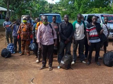 Border Closure: 80 Persons Suspected To Be Togolese Arrested For Illegal Entry Into Ghana, Details