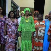 Mme Kandia Camara reçoit les félicitations de ses amies du Lycée de Bouaké et de l'ENS