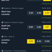 Best Sunday Matches Analysis With More Than 90 Odds, GG And Under 3.5