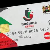 One Thing You Should Do If You Have Not Received Your Huduma Number Card, See Details.