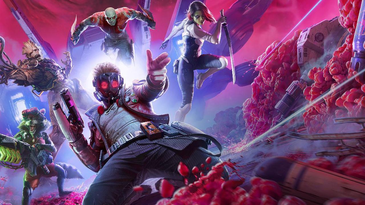 Guardians of the Galaxy: Die Guardians im Kampf und bei der Erkundung