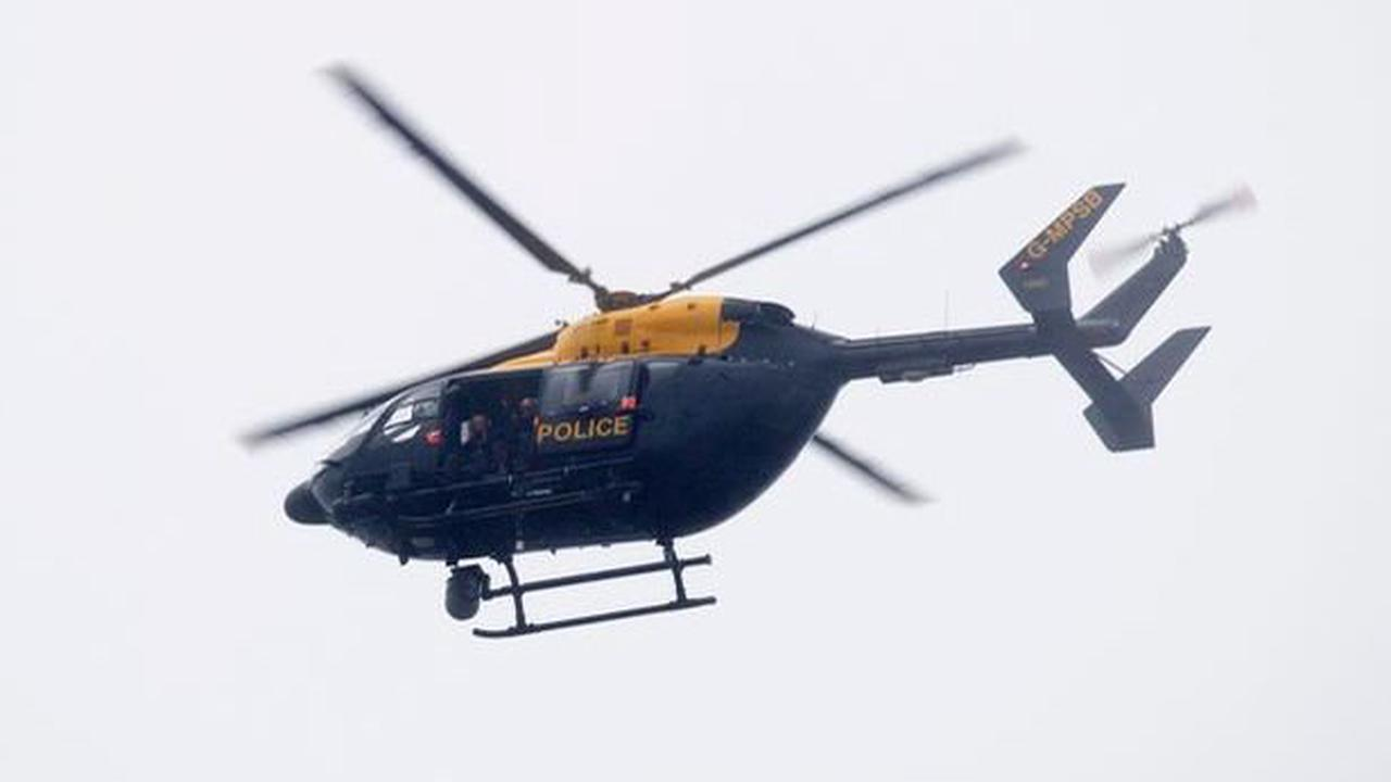 Police explain why a helicopter was circling over Tunbridge Wells at night