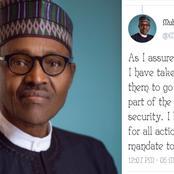 President Muhammad Buhari Speaks On Security