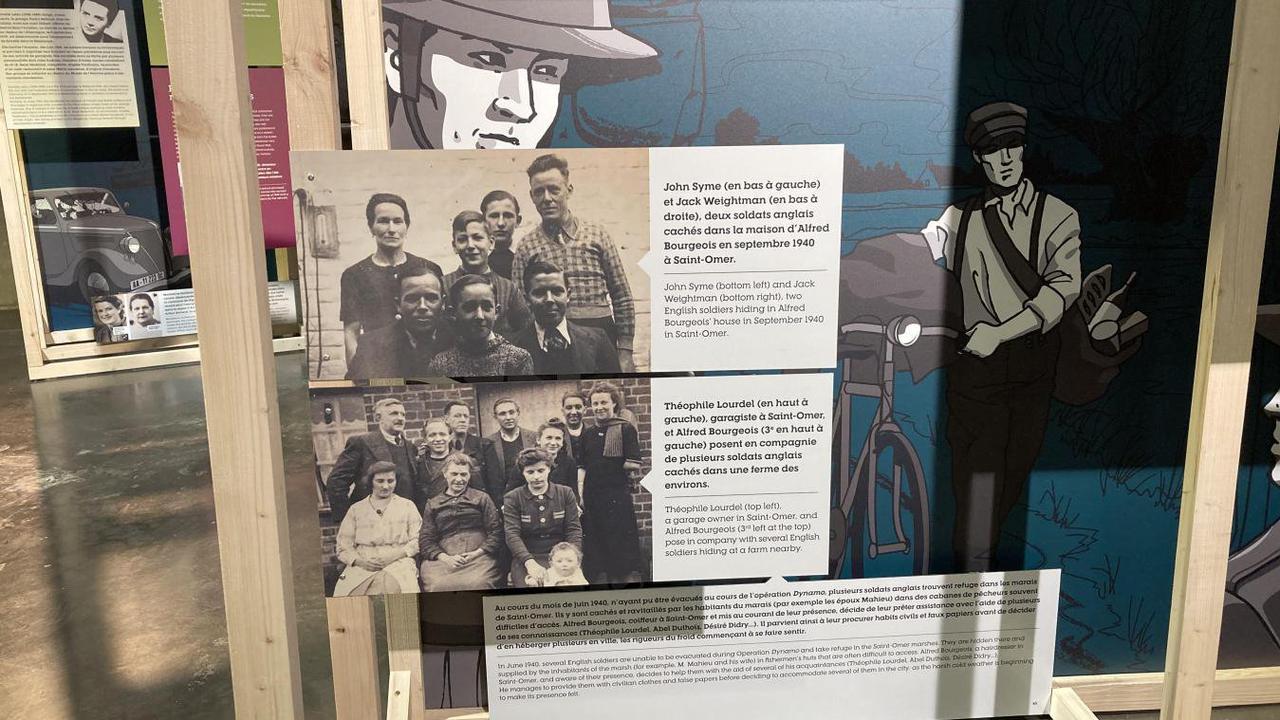 Audomarois - La Coupole présente une exposition sur De Gaulle, 1940 et la résistance