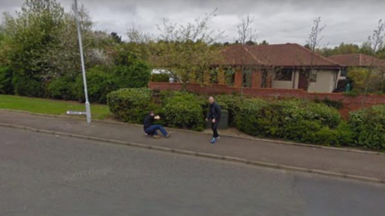 Street fight? Image of 'scrap' in Glenrothes from Google Maps goes viral