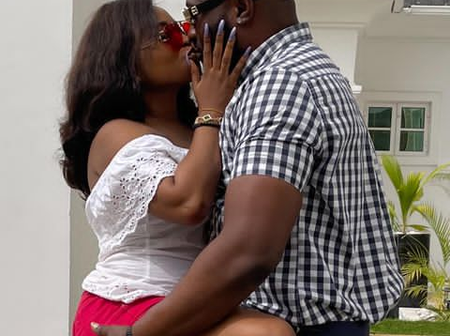 Photos Of Upcoming Actress, Sholly Cutie With Ibrahim Chatta, Femi Adebayo, Others On Movie Set