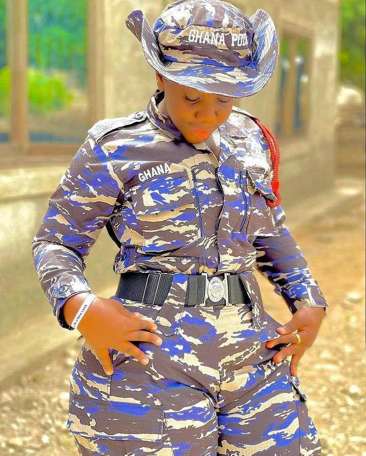 642a22e9544640cabf678a78018c11fb?quality=uhq&resize=720 - 10 Times Ghana's 'Hottest' Police Officer, Ama Dufie Stun Fans With Her Beauty & Curves