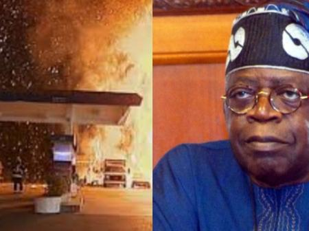 Today's Headlines: Tinubu Donates N20m At Aisha Buhari Book Launch, Fuel Station On Fire In Adamawa