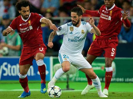 Real Madrid Vrs Liverpool Champions League Prediction