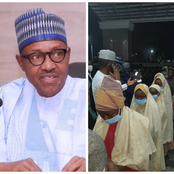 Hours After Abducted Jangara Girls were Released, See What Pres. Muhammed Buhari said.