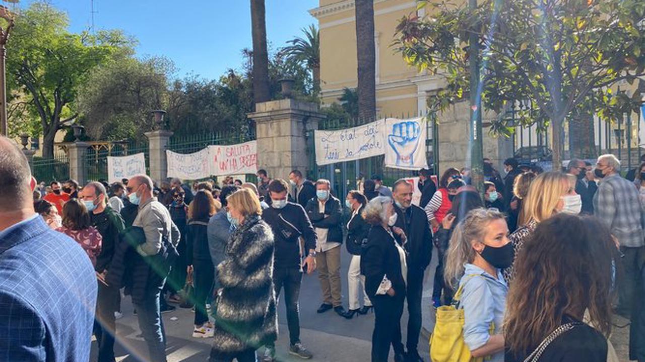 Forte mobilisation pour l'Association inseme ce mercredi après-midi à Aiacciu