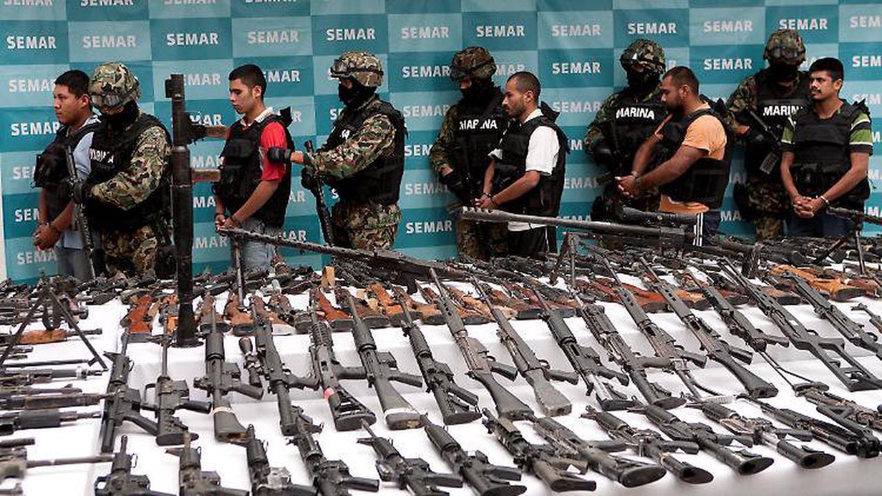 Mitschuld am Schmuggel: Mexiko verklagt Waffenhersteller in den USA