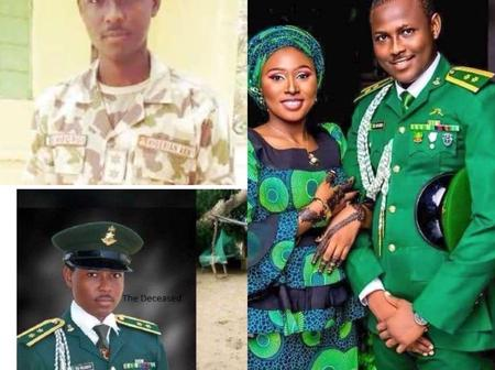 RIP: See Cute Photos Of The Nigerian Soldier Who was Shot By His Colleague