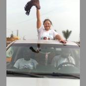 Législatives en Côte d'Ivoire : la femme bat la campagne de son mari en prison