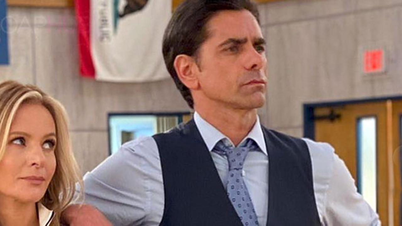 GH Alum John Stamos Is A Basketball Big Shot for Disney