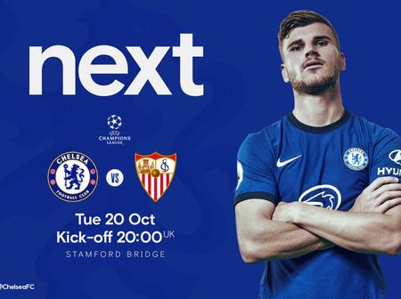 Chelsea VS Sevilla: Head-To-Head, Preview, Prediction, Squad Report and Potential Starting Eleven